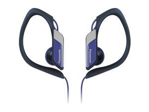 Water-Resistant Sports Clip Earbud Headphones RP-HS34-A - Blue