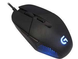 Logitech G302 Daedalus Prime Moba 910-004205 Black 6 Buttons 1 x Wheel USB Wired Delta Zero sensor Gaming Mouse