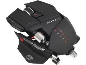 Mad Catz R.A.T. 9 MCB4370900B2/02/1 Black 8 Buttons 1 x Wheel USB 2.0 RF Wireless Laser Gaming Mouse for PC and Mac