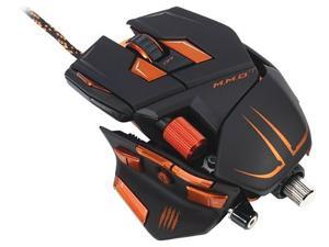 Mad Catz M.M.O.7 Gaming Mouse for PC and Mac - Matte Black