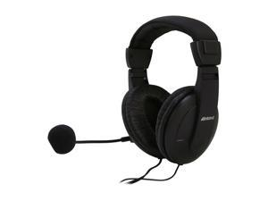 inland 87052 3.5mm Connector Circumaural Multimedia Headset with Volume Control