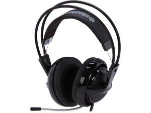 SteelSeries Siberia V2 3.5mm Connector Circumaural Full-Size Gaming Headset - Black