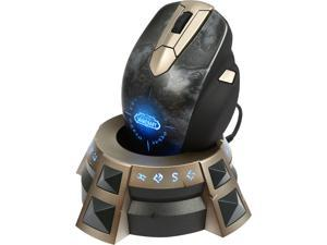 SteelSeries World of Warcraft Wireless MMO 62220 11 Buttons 1 x Wheel USB RF Wireless 8200 dpi Gaming Mouse
