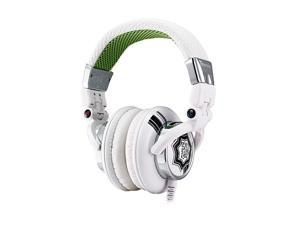 Dracco White HT-DRA007OEWH Circumaural High Performance Professional Headphone rock white