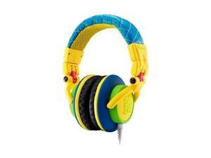 Dracco Yellow HT-DRA007OEYE Circumaural High Performance Professional Headphone flare yellow