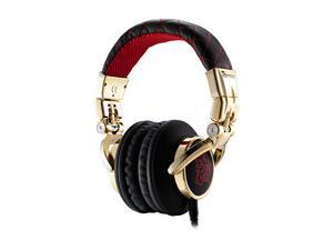 Dracco Red HT-DRS007OERE Circumaural High Performance Professional Headphone inspire red