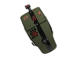 Tt eSPORTS Level 10 M MO-LTM009DTK Military Green Wired Laser Gaming Mouse