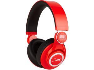 ALTEC LANSING Red MZX756RED Kickback DJ Headphones