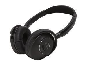 JVC HA-NC250 3.5mm/ 6.3mm Connector Circumaural Noise Cancelling Headphone