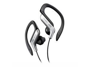 JVC  HA-EB75  Silver Ear-Clip Headphone For Light Sports With Bass Enhancement