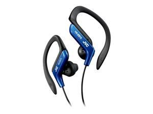 JVC  HA-EB75 (Blue) Ear-Clip Headphone For Light Sports With Bass Enhancement