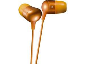 JVC HA-FX35-DN Inner-Ear Marshmallow Earphone - Stereo - Orange