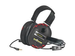 KOSS Race Tracker Black QZ5 3.5mm Connector Circumaural Passive Noise Reduction Headphone