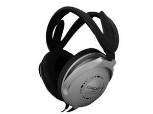 KOSS 164103 3.5mm Connector Circumaural Collapsible Stereo Headphone