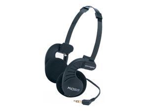KOSS Black Sporta Pro (164020) 3.5mm Connector Supra-aural Headphone