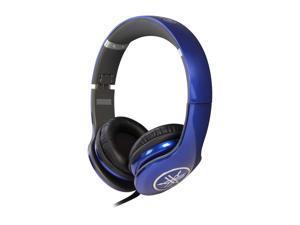 Yamaha PRO 300 High-Fidelity On-Ear Headphones (Racing Blue) - HPH-PRO300BU