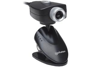 Manhattan Webcam - 5 Megapixel - Black - USB 1.1