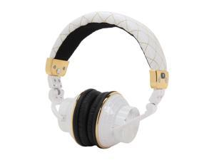 Spider E-HEPH-WH01 PowerForce Full Circumaural Headphones - White