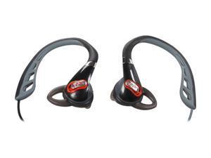Polk Audio Black UltraFit 500 In-Ear Sports Headphone (Black/Red)