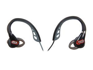Polk Audio Black UltraFit 1000 In-Ear Headphone - Black/Red