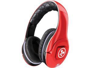 Fuhu Target electronics iPods & audio headphonesnabi Red HEADPHONE-00-FA12 Circumaural Notes Headphones