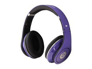 Beats by Dr. Dre Purple Studio On Ear Powered Isolation Headphone (Purple)