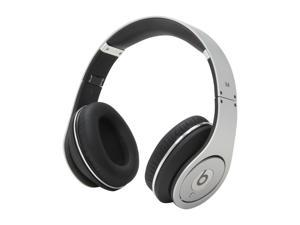 Beats by Dr. Dre Silver Studio On Ear Powered Isolation Headphone (Silver)