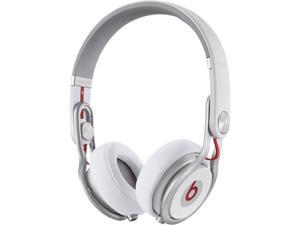 Beats by Dr. Dre White MH6N2AM/A 3.5mm Connector On-Ear High Performance Professional DJ Headphone (White)