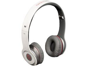 Beats White SOLOWIREDWHITE Beats Solo Wired On-Ear Headphones