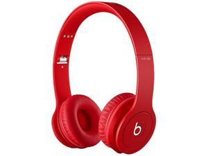 Beats by Dr. Dre MATTE RED SOLOWIREDMR 3.5mm Connector SOLO WIRED HEADPHONES