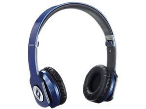 noontec Blue 3.5mm ZORO HD True Sound Headphones with Inline Mic and Answer/End Button ZORO-HD-BLU