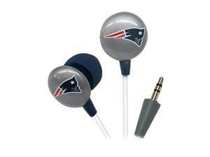 IHIP Blue/Red/White NFF10200NEP New England Patriots Mini Ear Buds, Blue/Red/White