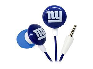 IHIP Blue/Red/White NFF10200NYG New York Giants Mini Ear Buds, Blue/Red/White