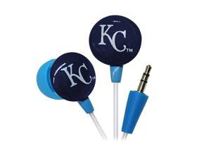 IHIP MLB Kansas City Royals MLF10169KC 3.5mm Connector Earbud Earphone