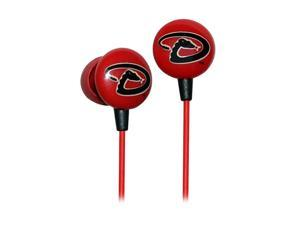 IHIP MLB Arizona Diamondbacks MLF10169ATL 3.5mm Connector Earbud Earphone