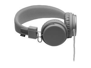 Urbanears Dark Gray Plattan Circumaural Headset w/ 3.5mm Stereo Plug / Microphone