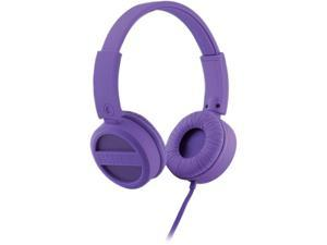 iHome  Purple  IB34U  Rubberized Headphones