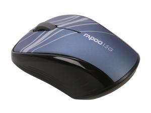 Rapoo 3100P Blue 3 Buttons 1 x Wheel USB 5GHz Wireless Optical Mouse