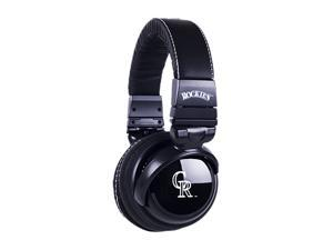 BiGR Audio XLMLBKCR1 3.5mm Connector Over-Ear Kansas City Royals Headphones with In-Line Mic