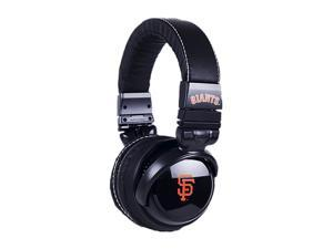 BiGR Audio XLMLBSFG2 Over-Ear San Francisco Giants Headphones with In-Line Mic