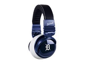 BiGR Audio XLMLBDT1 3.5mm Connector Over-Ear Detroit Tigers Headphones with In-Line Mic