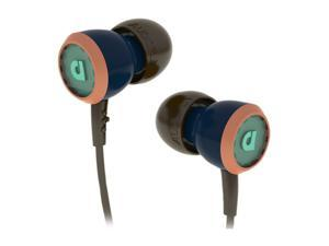 Audiofly 33 Series Selvage Blue AF331103 In-Ear Headphone w/Microphone Selvage Blue