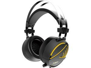 GAMDIAS HEBE M1 Circumaural USB Gaming Headset with RGB Lighting / Virtual 7.1 Surround Sound / EQ Adjustment / Vibration ...