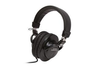 Audio-Technica ATH-M30 3.5mm/ 6.3mm Connector Circumaural Closed-back Dynamic Stereo Monitor Headphone