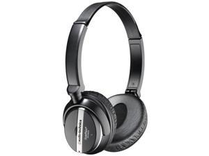 Audio-Technica ATH-ANC25 3.5mm/ 6.3mm Connector Supra-aural QuietPoint Active Noise-cancelling Headphone