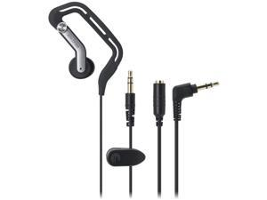 Audio-Technica Black ATH-CP300BK Earbud Players Line Sport Fit Headphone