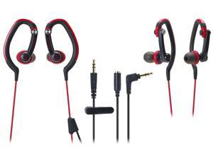 Audio-Technica Red ATH-CKP200RD Headphone/Headset
