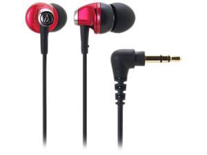 Audio-Technica Red ATH-CK313MRD Binaural Headphone/Headset