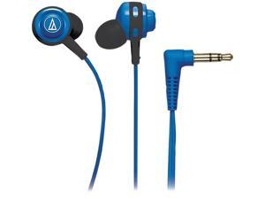 Audio-Technica ATH-COR150 Core Bass In-Ear Headphones - Blue