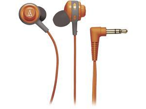 Audio-Technica ATH-COR150 Core Bass In-Ear Headphones - Orange